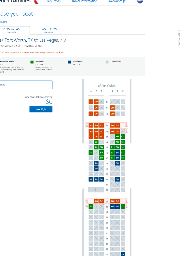 Basic Economy Ticket Get A Flight Seat Assignment For A Price