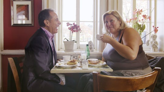 Jerry Seinfeld goes off on an unnamed comedy critic on a 'Comedians in Cars Getting Coffee' episode with Bridget Everett.