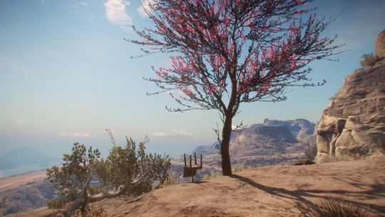 'Rage 2' has a mysterious floating upside-down chair. Get close to it and watch the clock.