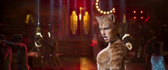 """Taylor Swift plays the stylish and confident Bombalurina in """"Cats."""""""