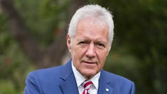 Alex Trebek attends the 150th anniversary of Canada's Confederation at the Official Residence of Canada on June 30, 2017, in Los Angeles, Calif.