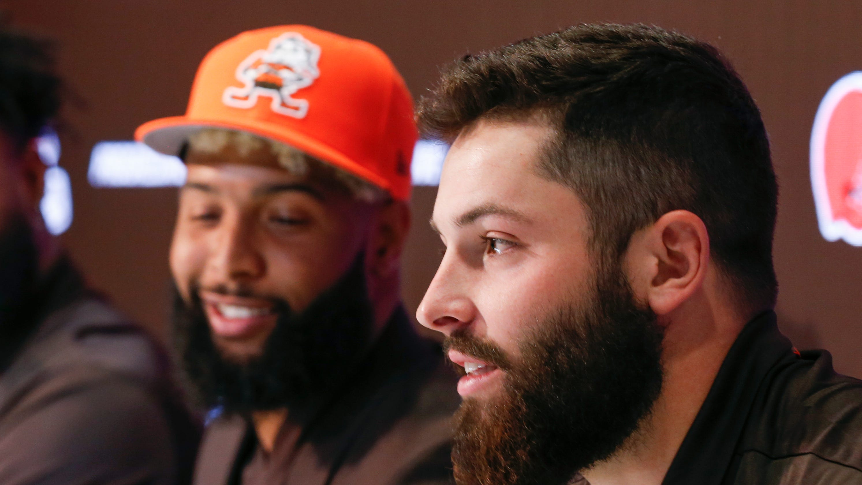 Baker Mayfield bashes Giants fans in defense of Odell Beckham Jr.