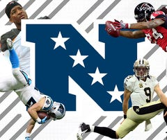 Who are the haves and have nots in the NFC South?