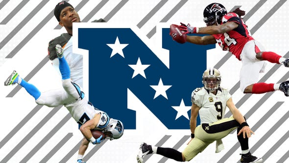 SportsPulse: Lorenzo Reyes takes a good hard look at the Saints, Panthers, Falcons and Buccaneers and tells us why each squad may or may not make the playoffs this season.