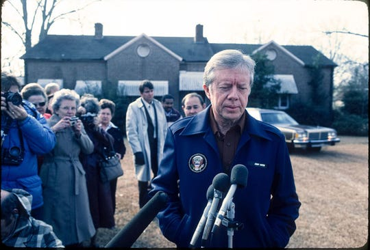 President Jimmy Carter left White House with peanut business in debt