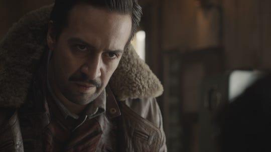 "Lin-Manuel Miranda goes fantasy as Lee Scoresby in HBO's ""His Dark Materials."""