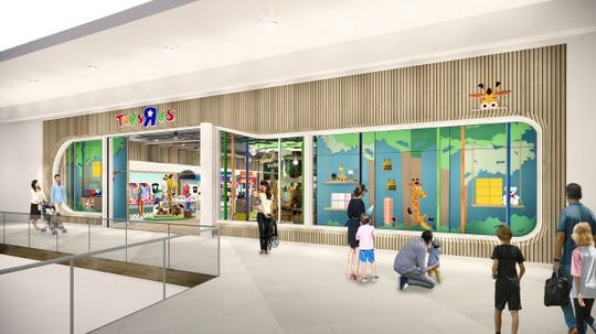 The first two Toys R Us locations are slated to open before the holidays. One will be at Simon Property Group's Galleria mall in Houston. The other will be at Unibail-Rodamco-Westfield's Garden State Plaza mall in Paramus, New Jersey.