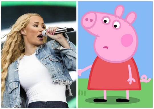 Rapper Iggy Azalea is in a hilarious feud with Peppa Pig on Twitter because their albums drop on the same day.