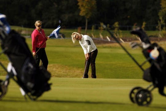 Scots golfer Carly Booth plays the Ladies Scottish Open at The Carrick Golf Course, Loch Lomond.