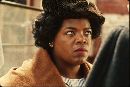 "Oprah WInfrey is Sofia in the Oscar-nominated ""The Color Purple,"" which is available to stream on Hulu this month."