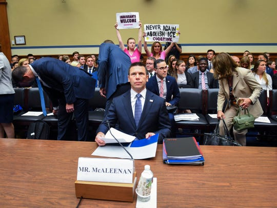 Acting Homeland Security Secretary Kevin McAleenan says he petitioned Congress for help on the border and was denied.