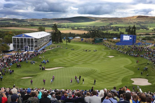 The Ryder Cup took place at Gleneagles in 2014.