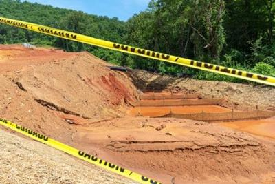 Following a period of heavy rain, the state is looking into sediment runoff into the Tuckaseigee River in Cullowhee.