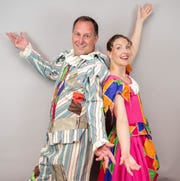 """In the Summer Savoyards' production of """"The Yeomen of the Guard,"""" Shan Townes and Alison Wahl star as the strolling players Jack Point and Elsie Maynard."""