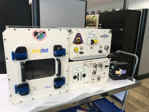 Tech companies nScrypt and Techshot worked together to develop the first 3D printer that could print human tissue in space. The printer is scheduled to launch atop SpaceX's Falcon 9 rocket for its CRS18 mission to the International Space Station.