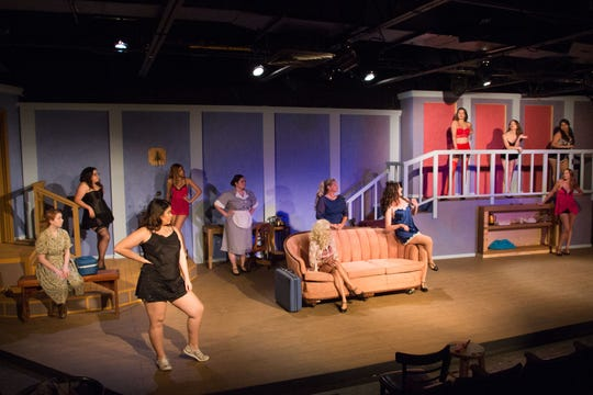 """Aurora Arts Theatre will present """"The Best Little Whorehouse in Texas""""  July 17 to September 1."""