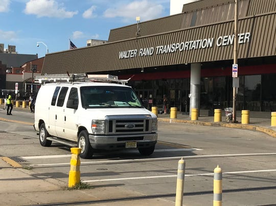 NJ Transit is exploring the potential for transit-oriented developments at stops along the River LINE, including the Rand Transportation Center in Camden.