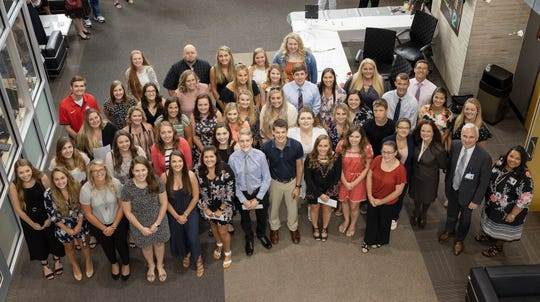The Adena Health Foundation has awarded scholarships to 77 area students pursuing degrees in the health care field.