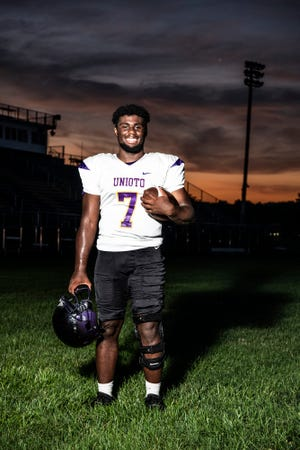 After a torn anterior cruciate ligament (ACL) during the 2018 football season against Paint Valley took him out of the game permanently for the season, Jamarcus Carroll is ready to come back as one of the top players in the SVC for the 2019 football season.