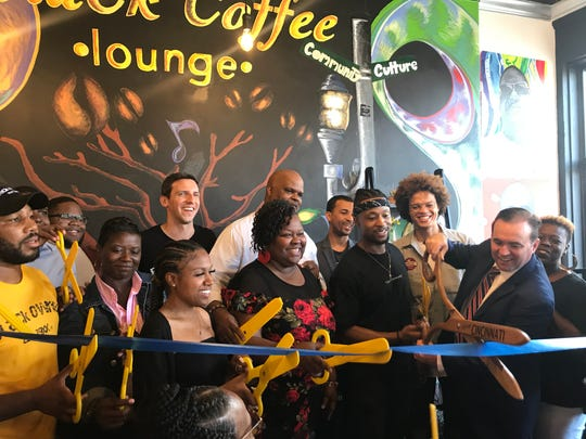 Black Coffee Lounge had a soft opening on July 19 at 824 Elm St.