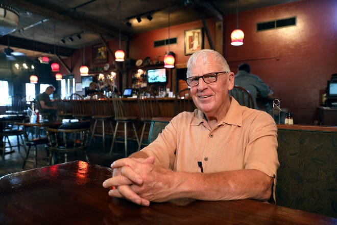 John Larson's first career was in education. Today he owns two restaurant, The Depot in Dresden and The Warehouse in Coshocton's historic Roscoe Village.
