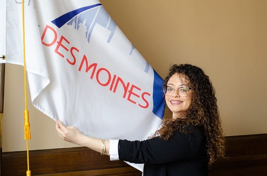 Chelsea Chism-Vargas announced this week that she'll run for a seat on the Des Moines City Council.