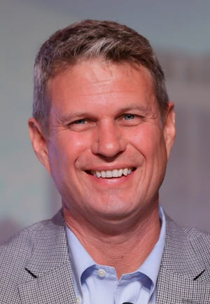 U.S. Rep. Bill Huizenga, R-Mich., is seen during a congressional panel at the 2016 Mackinac Republican Leadership Conference, Saturday, Sept. 19, 2015, in Mackinac Island.