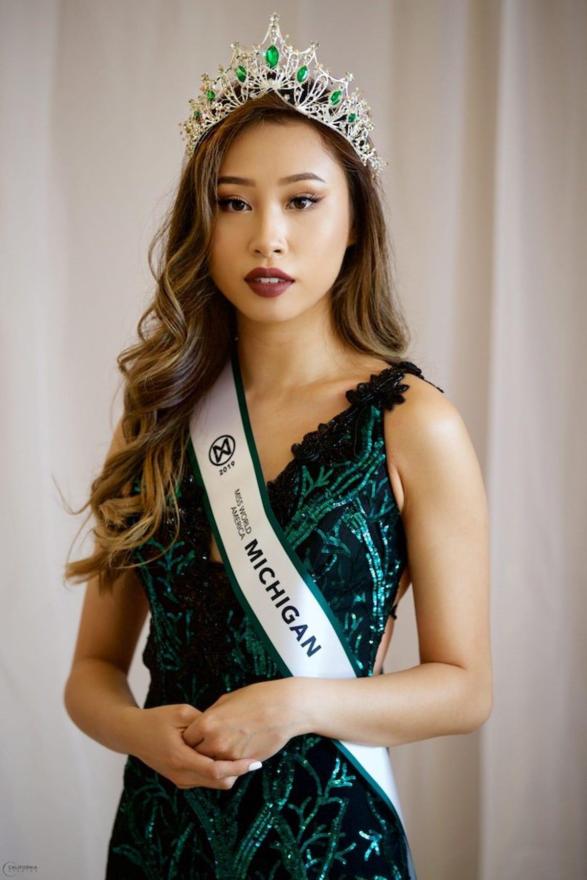 U-M student Kathy Zhu stripped of Miss Michigan World