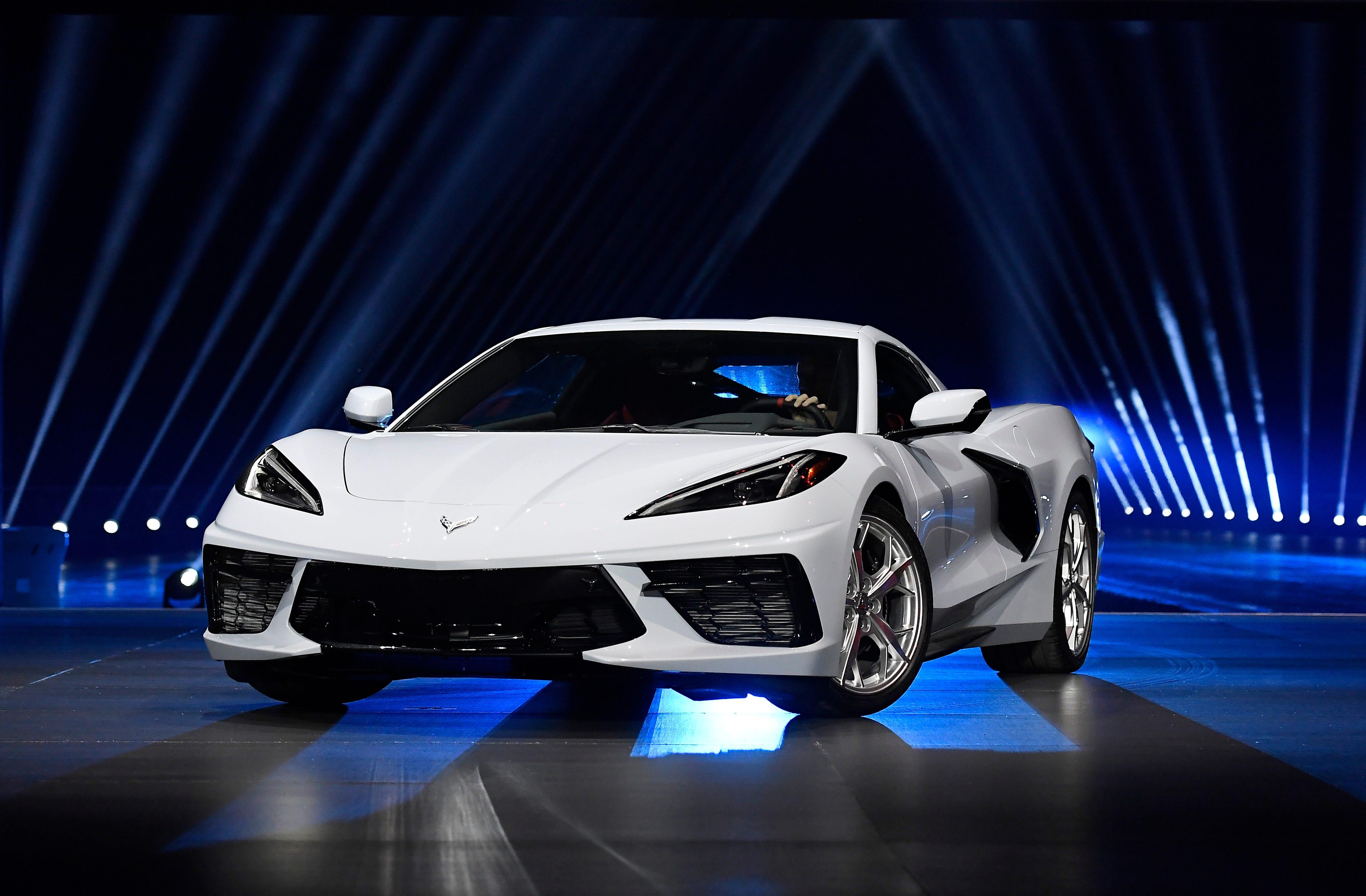 2020 corvette c8  chevrolet breaks the mold with speed