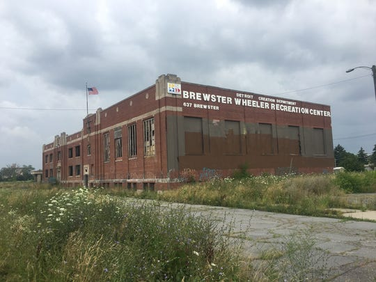 How the Brewster Wheeler Rec Center looked on July 19, 2019