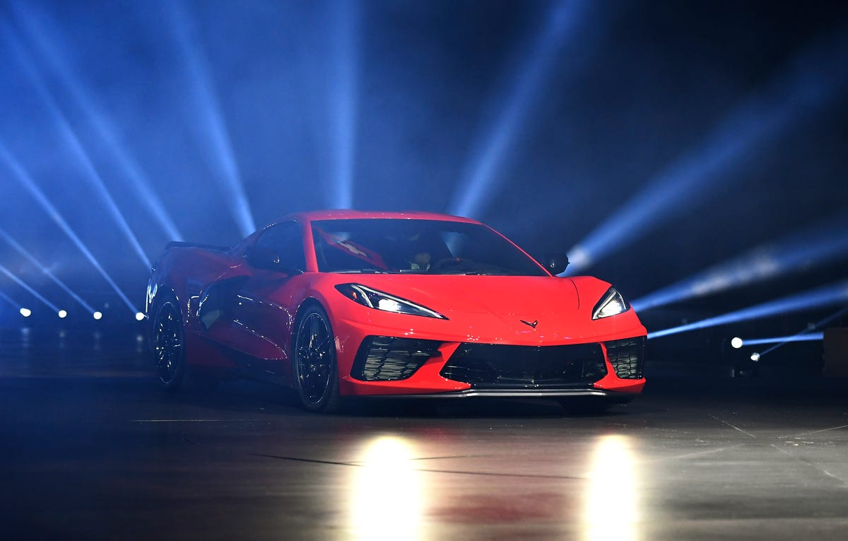 2020 Chevrolet Corvette C8's price and features draw gasps