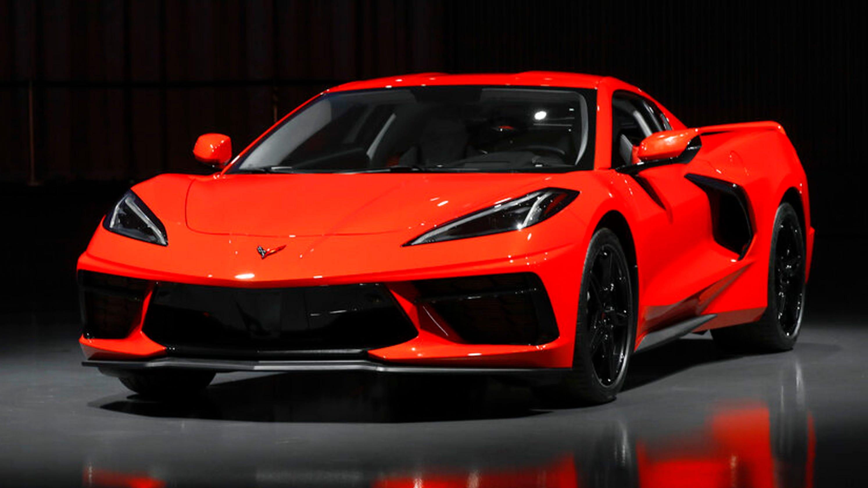 Chevrolet Premieres Mid Engine 2020 Corvette