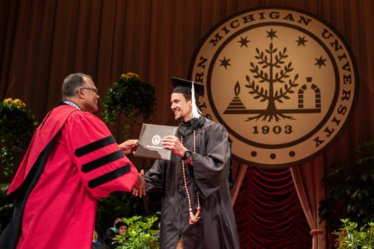 Danny DeKeyser receives his degree at Western Michigan on June 29.
