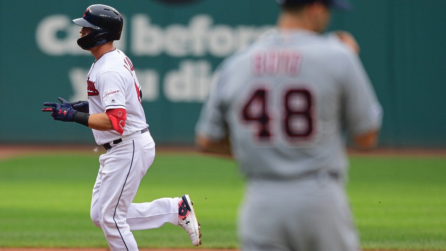 Long ball bites Boyd again, Indians complete another sweep of Tigers