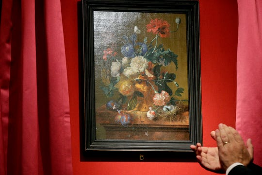Germany returned the Dutch still-life after it was stolen by Nazi troops during WWII.