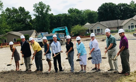 Otterbein Marblehead broke ground in Marblehead on a soon-to-be new long-term care facility.