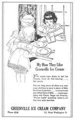 Children were encouraged to eat ice cream, for the milk, of course.