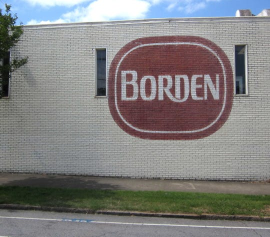 Borden once served the Southeast its beloved ice cream from a large plant in Greenville.