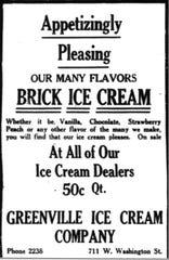 Ice cream ad