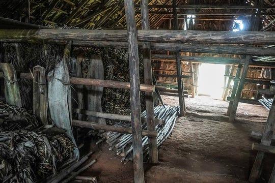 Viñales, Cuba   Traditional tobacco drying shack