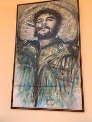 Che Guevara, legendary Cuban revolutionary leader.
