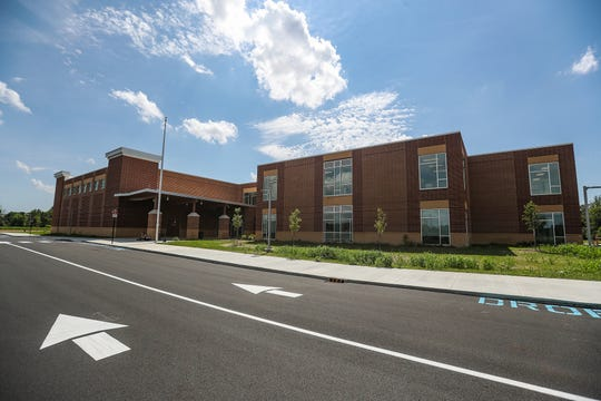 The newly built Southeastern Elementary School in Fishers, Ind., on Thursday, July 18, 2019.
