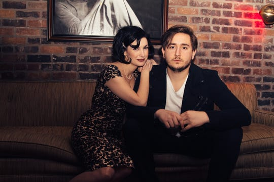 Roots Americana and vintage blues duo Stephanie Adlington and Aaron Lessard bring their new act, 'A Tale of Two' to Jackson Friday at Duling Hall.