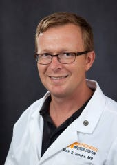 Mark Rasnake is an infectious disease physician at the University of Tennessee Medical Center.