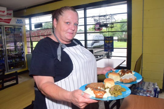 """""""I cook the stick-to-your-ribs kind of food your grandma used to make,"""" said cook Jackie Figgins at Jayda's Food Market and Deli."""