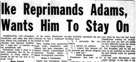 A  June 18, 1958 article from the Lancaster Eagle-Gazette/