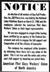 This notice appeared in the June 19, 1958 Lancaster Eagle-Gazette