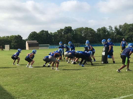 Kentucky Country Day practice Friday morning.