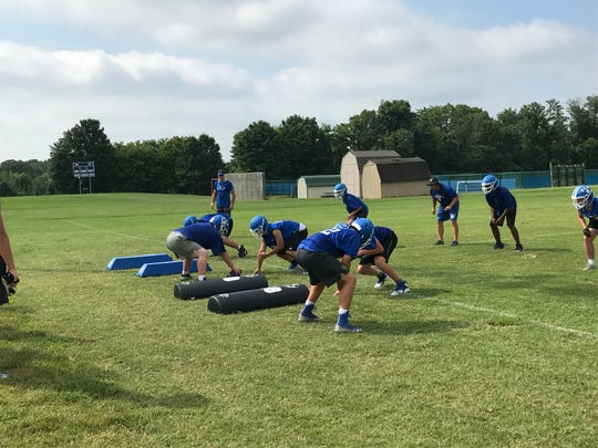 Kentucky Country Day uses ice buckets to cool down its players.