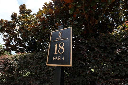Golfers descended on TPC Southwind on Monday after arriving from Northern Ireland.